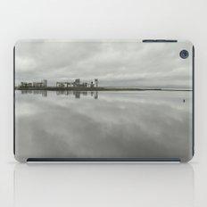 Edinburgh sea side, rainy day iPad Case