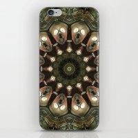 Rusty Alien Head Mandala iPhone & iPod Skin