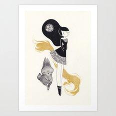 -R- Art Print