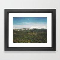 California Landscape Framed Art Print