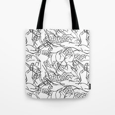 Givers and beggars Tote Bag