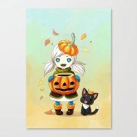 Pumpkin 2 Canvas Print