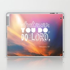 do it for the LORD Laptop & iPad Skin