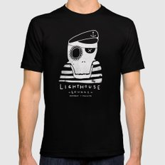 One-Eyed Willy Black SMALL Mens Fitted Tee