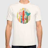 Vivant Mens Fitted Tee Natural SMALL