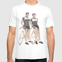 Le Tour  Mens Fitted Tee White SMALL