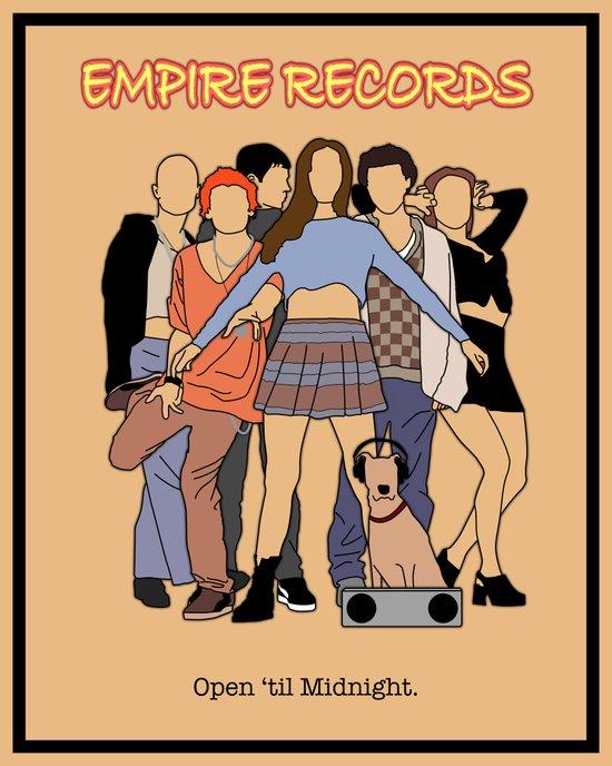 Empire Records Vintage Movie Poster Art Print