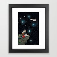 future vision...? Framed Art Print