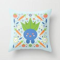 Oddish  Throw Pillow