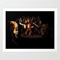 The Last Stand! Art Print