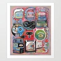 Hypnotictac Art Print