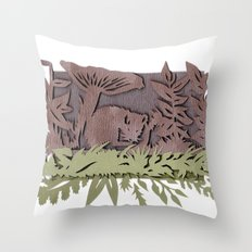 Sleeping Mouse Throw Pillow