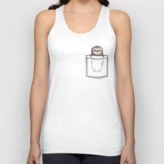 My Sleepy Pet Unisex Tank Top