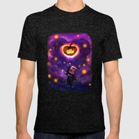 EllieWeen Mens Fitted Tee Tri-Black SMALL
