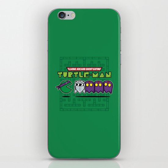 Hero in a Pac-Shell (Donnie) iPhone & iPod Skin
