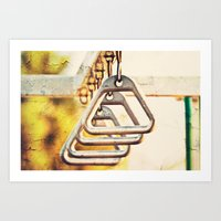 Monkey Bars Art Print
