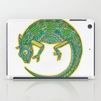 Quirky Chameleon iPad Case