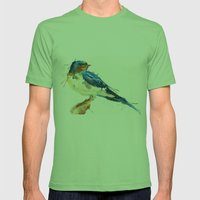 Swallow Mens Fitted Tee Grass SMALL
