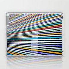 Colored Lines On The Wall Laptop & iPad Skin