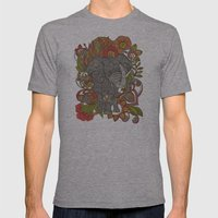 Bo the elephant Mens Fitted Tee Athletic Grey SMALL