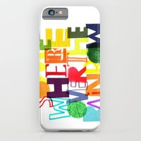 iPhone & iPod Case featuring Somewhere Over The Rainbow by Katie L Allen
