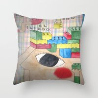 Lego Throw Pillow