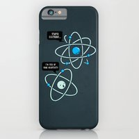iPhone & iPod Case featuring Negative Atom by Boots