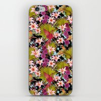 tropical lilly iPhone & iPod Skin