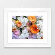 Joy is not in Things, it is in Us! Framed Art Print