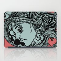 Phases Of The Moon, Lady… iPad Case