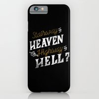 iPhone & iPod Case featuring Highway to Heaven? by Koning