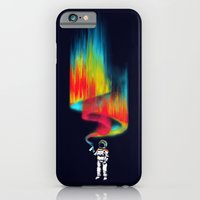 iPhone Cases featuring Space vandal by Budi Kwan