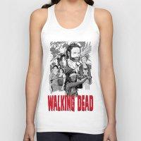 Walking Dead Unisex Tank Top