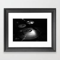 Cymbals Framed Art Print