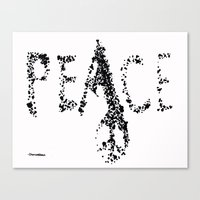 Be Peace Canvas Print
