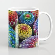 Jewel Drop Mandala Stone Collection #1 Mug