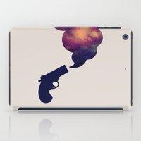 Cloudy Gun iPad Case
