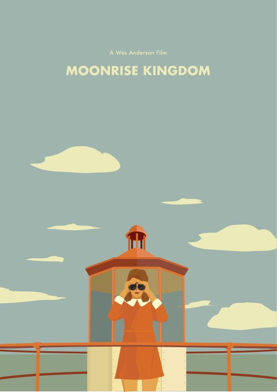 Moonrise Kingdom - Suzi Bishop Art Print