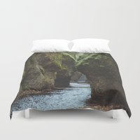 Oneonta Gorge Duvet Cover