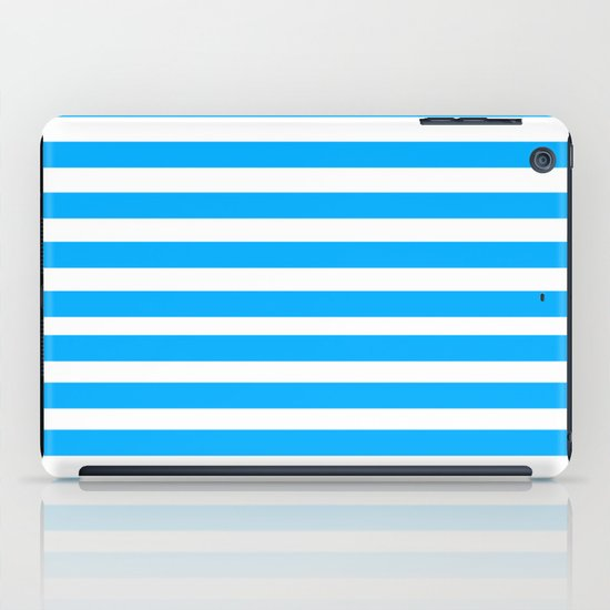 Blue Lines iPad Case