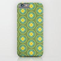 Retro Floral Cold 4 iPhone 6 Slim Case