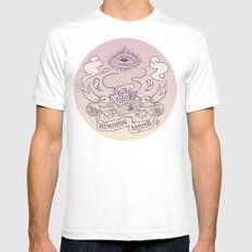 Reading minds / Mielofon Mens Fitted Tee White SMALL