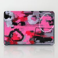 Abstract Painting - Rolling the Big Wheel iPad Case