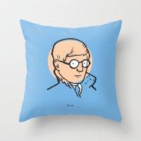 David Hockney Throw Pillow