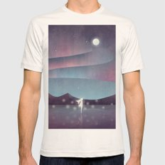 Descendant Of The Northern Lights Mens Fitted Tee Natural SMALL
