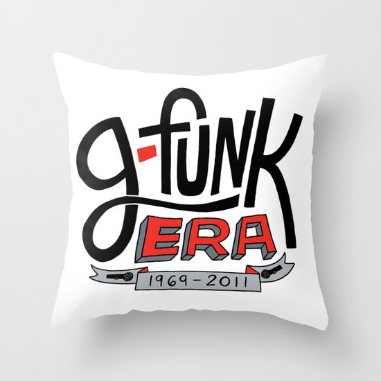 G-Funk Era Throw Pillow