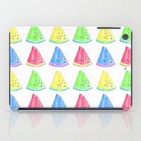 Watermelon Color Mix iPad Case