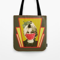 i guess she is a vegan Tote Bag