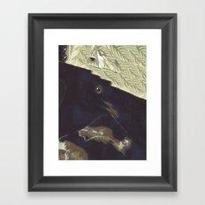 SURREAL BIRD Framed Art Print