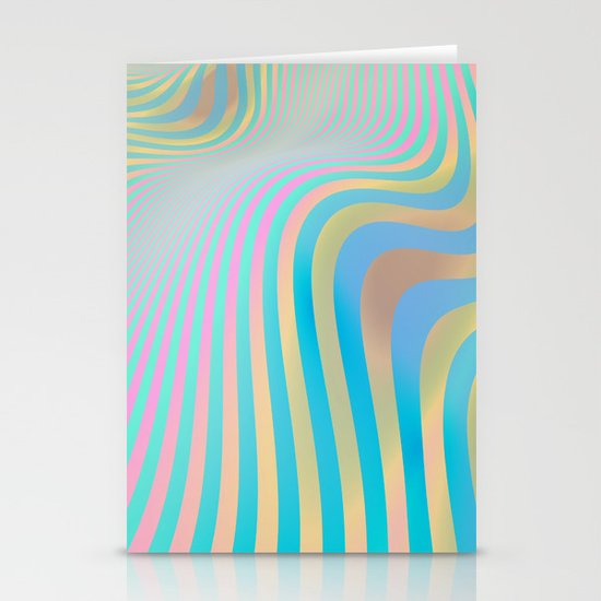 More Waves Stationery Card